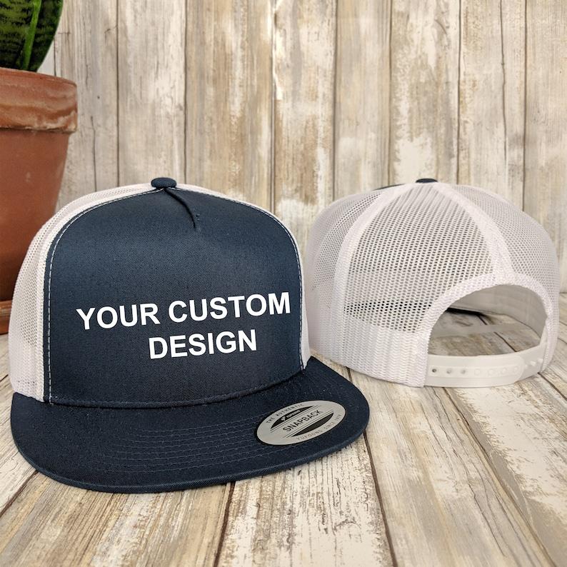 0eee3f0f8 Custom 5 Panel Trucker Snapback / Yupoong Mesh Snap Back / Bachelorette  Party Hats / Your Custom Apparel / Trucker Cap / Structured 5-Panel