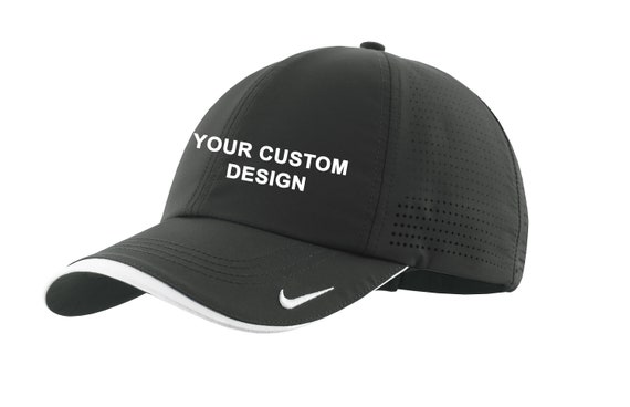 c9d17ad9dd9 Nike Dri-FIT Swoosh Perforated Cap   Custom Embroidered Hat