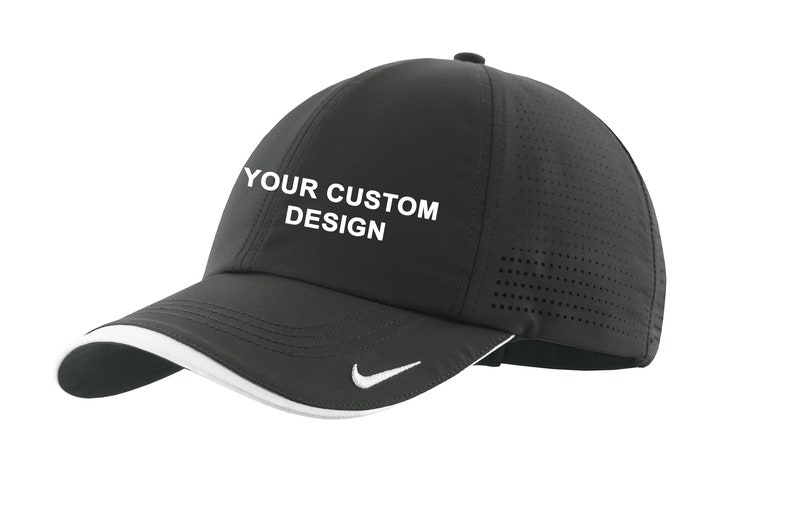 e9b755ef70ce Nike Dri-FIT Swoosh Perforated Cap   Custom Embroidered Hat