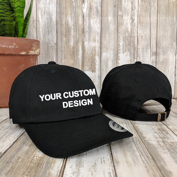 Custom Adjustable Dad Hat   Personalized Low Profile Cap    7db06f011c4b