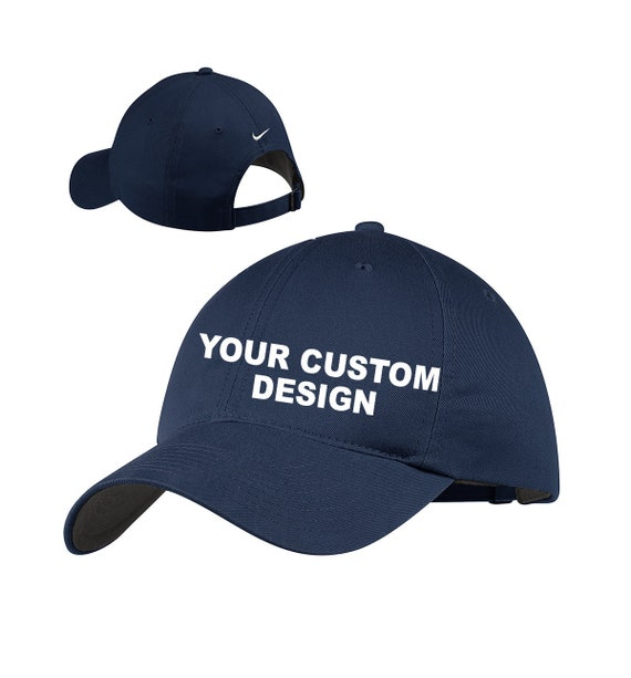ee01a9013f7 Nike Unstructured Twill Cap   Custom Adjustable Dad Hat   Mid