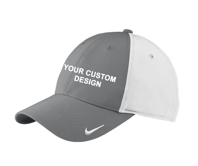 3b5a1e62b444b Nike Swoosh Legacy 91 Cap   Custom Embroidered Hat