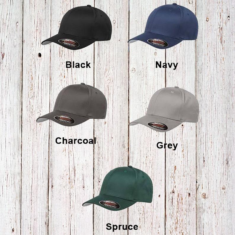 3c2795df48fbb Custom Flexfit Hat   Flex Fit Wooly 6-Panel Cap   Personalized