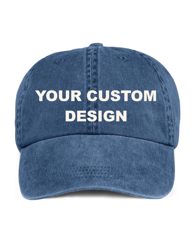 167a7e52381 Custom Washed Dad Cap   Anvil Low Profile Hat   Bachelorette