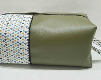 men's toiletry kit, personalized gift, personalized kit, women's pouch, customizable, first name