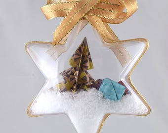 Christmas ornament / decoration shape ball starry Christmas decor