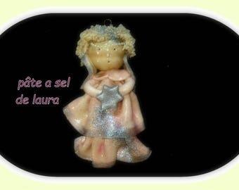 an Angel in salt dough