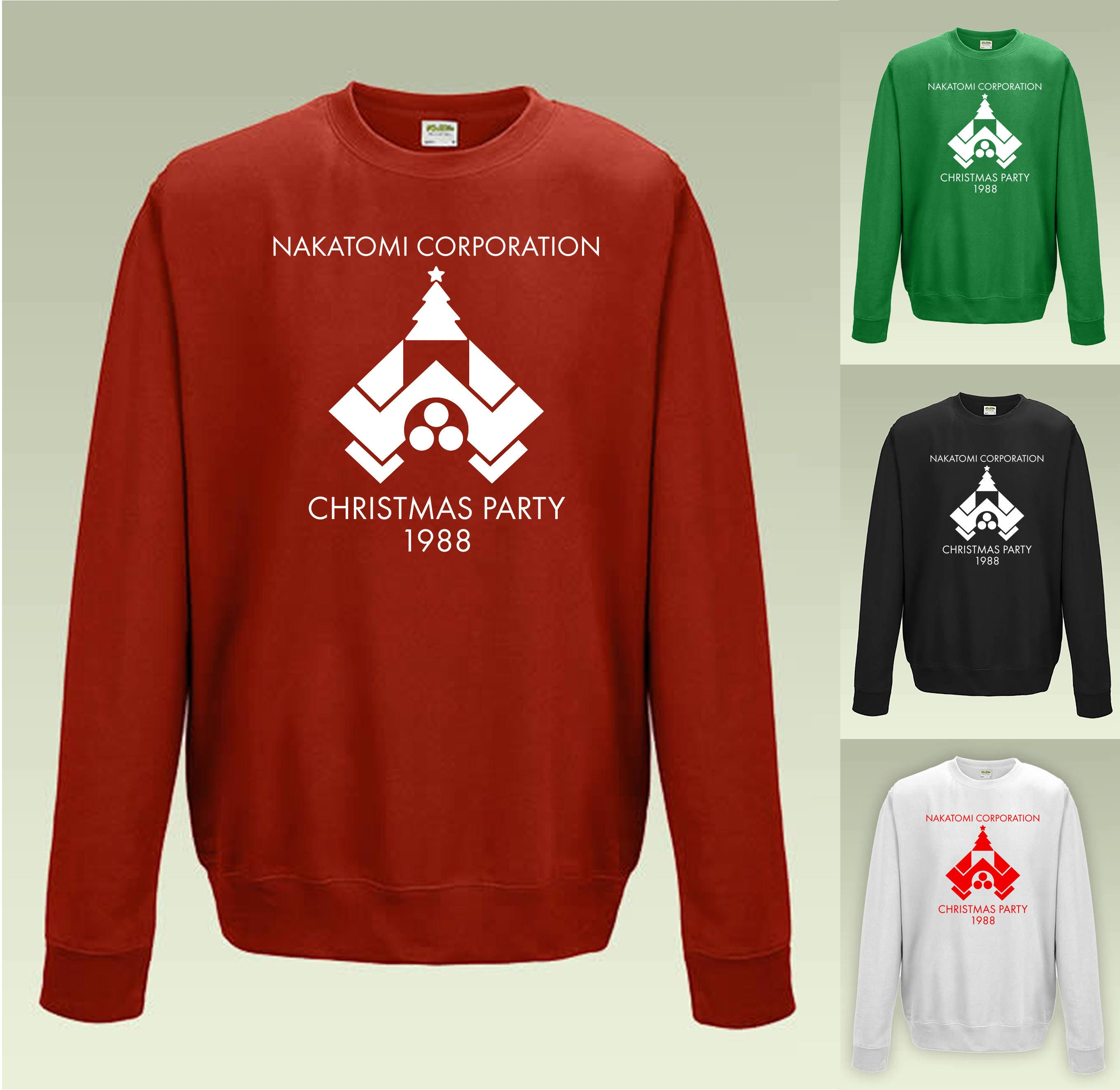 bbf6828cb Nakatomi Corporation Christmas Party Sweatshirt JH030 Funny | Etsy
