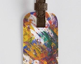para cuero Por de Elkoussy Unity de Noora Sólo Etiqueta personalizados Art equipaje Work pedidos fPxqxZa