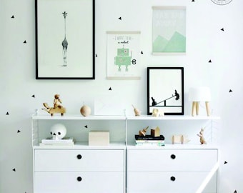Geometric Triangle Wall Decal