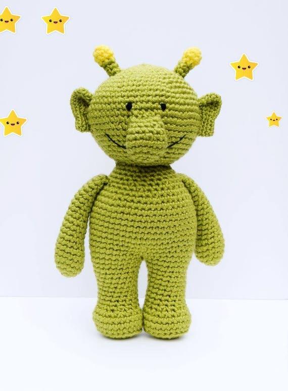Q Pootle 5 Amigurumi Pattern Alien Doll Crochet Pattern In Etsy
