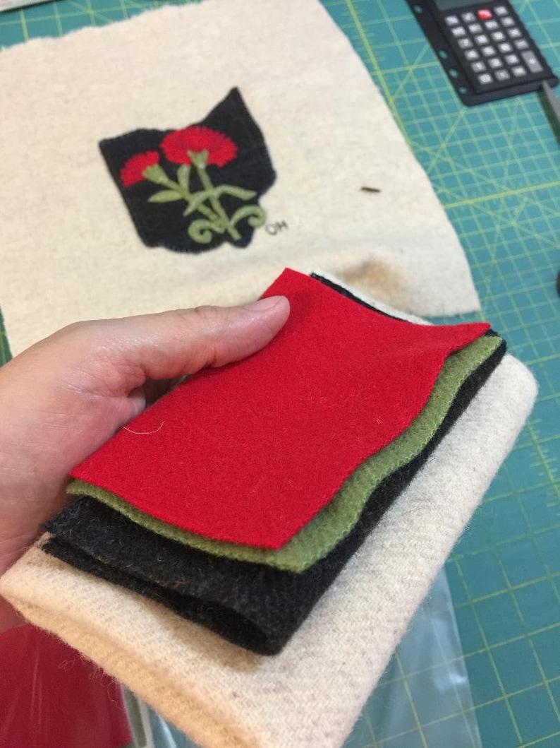 Ohio State wool block kit