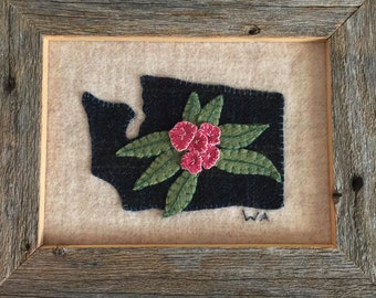 Digital Download! Washington State wool block kit