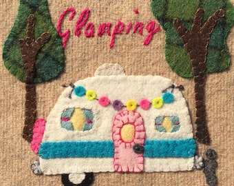 Glamping...into the Woods! Wooly Block Adventure 2020