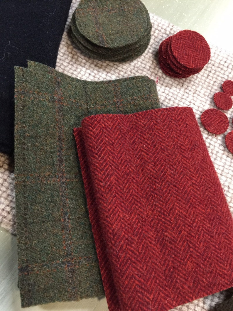 Summer Days wool applique kit