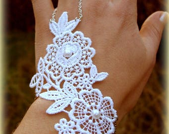 "Slave bracelet ""Moon flower"""
