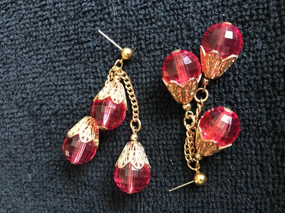Napier 1950's Runway Earrings
