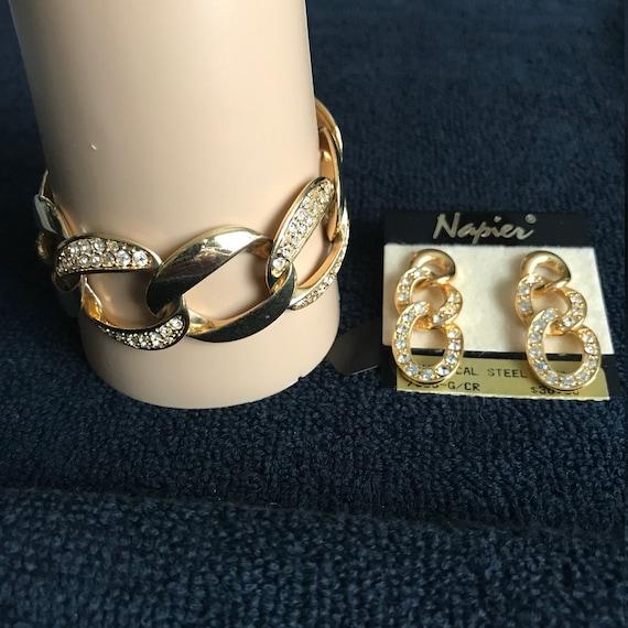 Napier Bracelet & Earrings Set