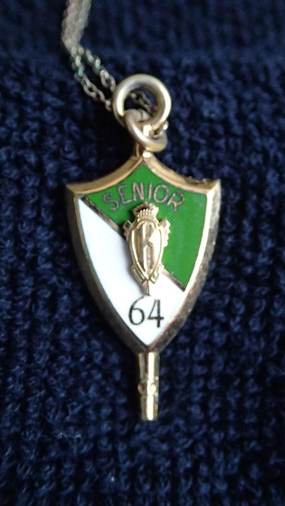 """1964 """"Senior"""" School Necklace"""