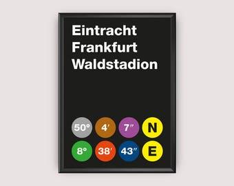 Eintracht Frankfurt Etsy