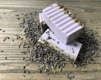 Lavender Hot Process Goats Milk Soap