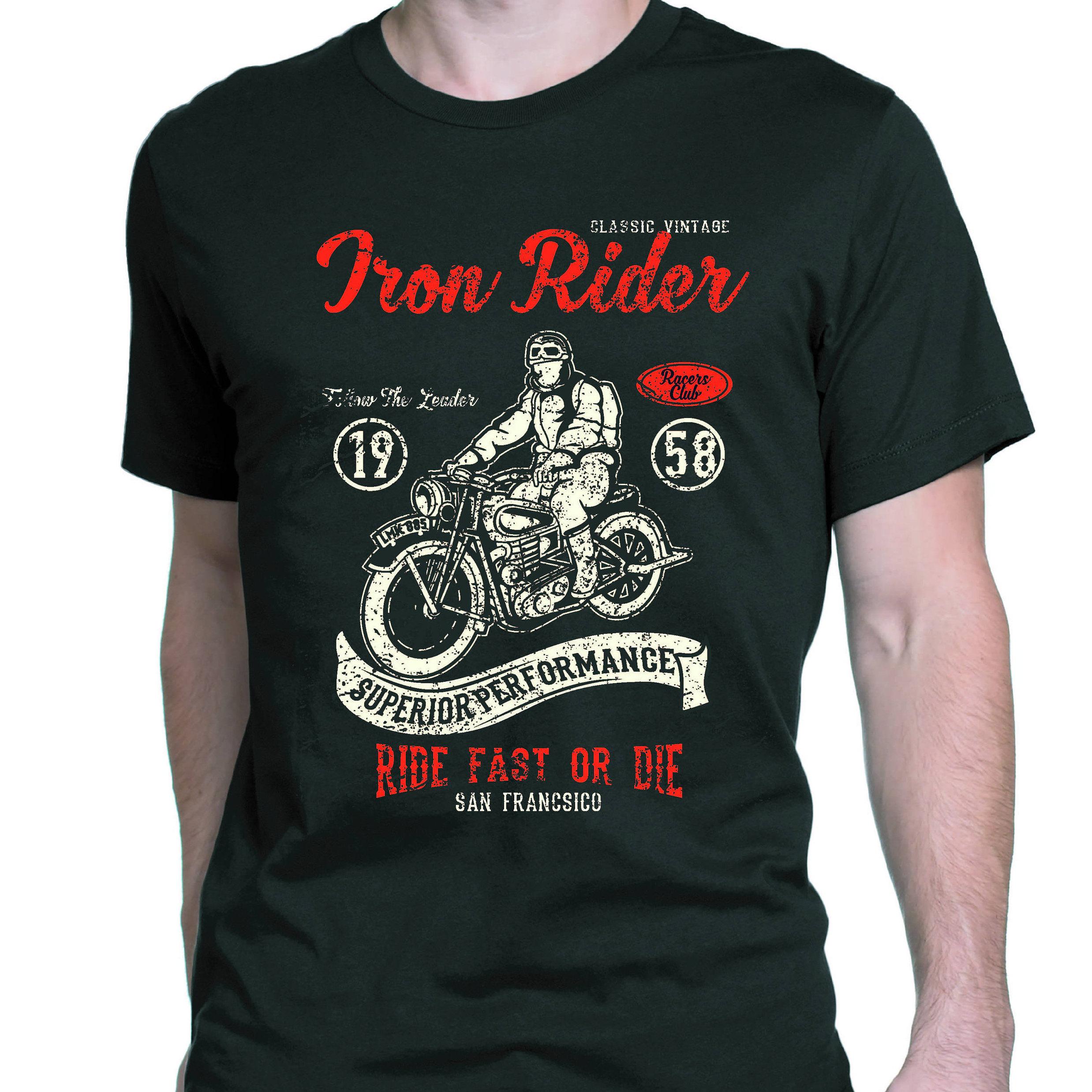 Moto T Shirt, Tshirt moto, vêtements moto moto, moto vêtements Vintage, Cafe Racer T-Shirt, 58933f