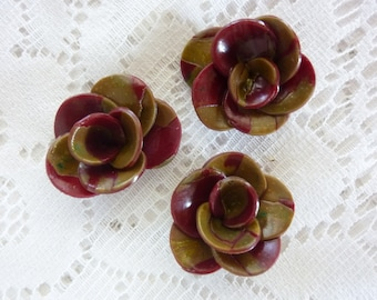CREATING JEWELRY RINGS CLAY CASSIS FLOWERS