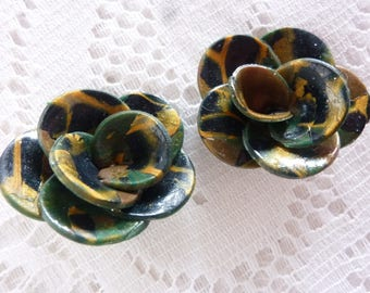 CREATING JEWELRY POLYMER CLAY FLOWERS
