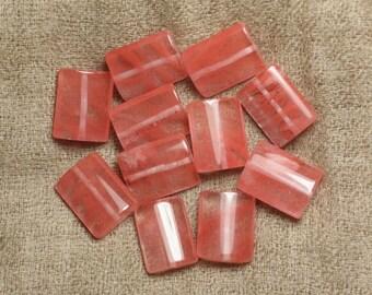 Gemstone-Naturel Cream Quartz Rectangle Forme Perles 10 x 4 x 4 mm G1244