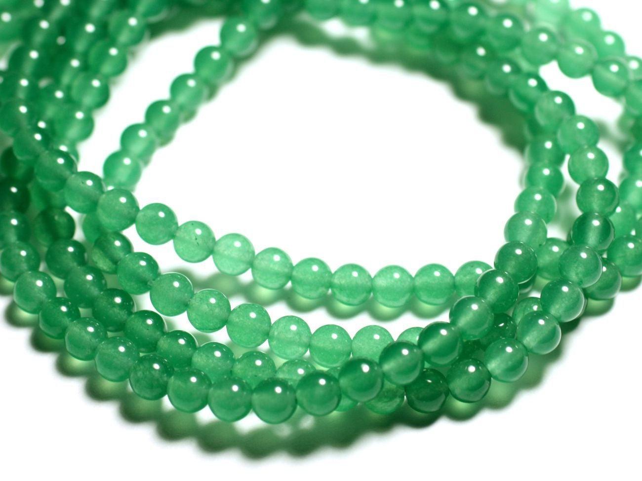 4558550035844 Cristal de Roche Quartz Boules 8mm 5pc Perles de Pierre