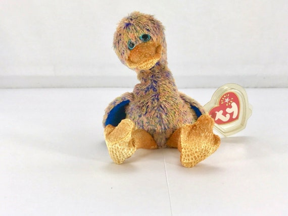TY Beanie Baby DINKY the Dodo Bird or Duck Plush Stuffed Animal NWT 9//25//2000