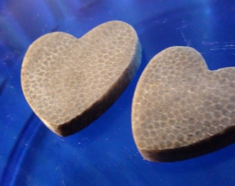 Pair of Polished Charlevoix/Favasite/Fossil Stones