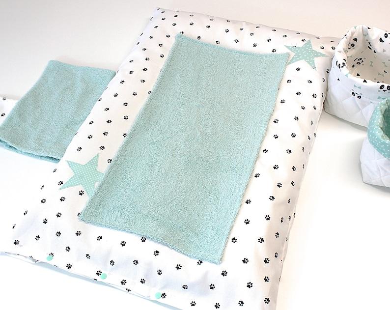 Housse de matelas à langer serviettes de change - Créatrice ESTY : PetitLionForBaby