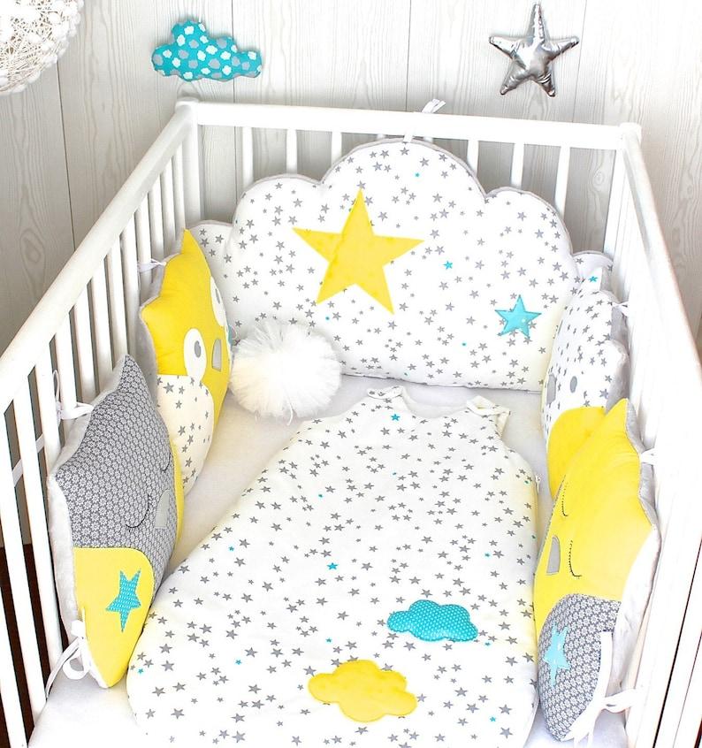 Tour de lit bébé 70cm large ou décoration chambre | Etsy