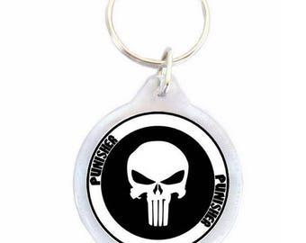 Punisher Keychain - Keychain
