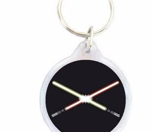 Lightsaber Keychain - type Star Wars