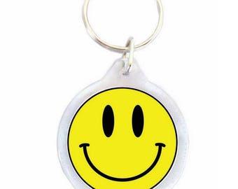 Yellow Smil Keychain - Keychain
