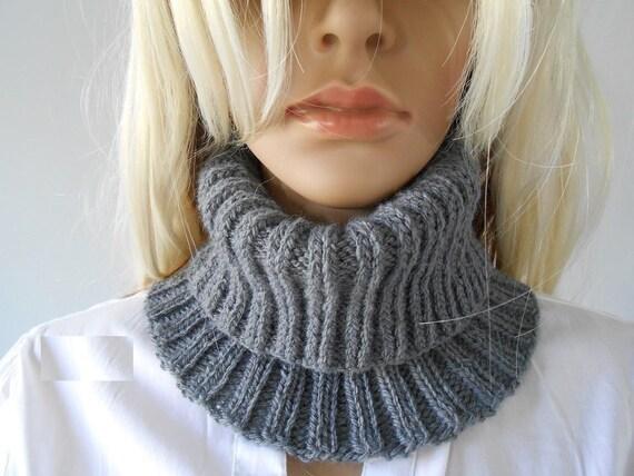 Frau Snood /wool stricken Schal/Stricken Zubehör/Winter | Etsy