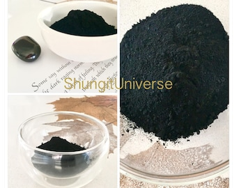 Shungite powder,healing black pigment for painting, soap making, cosmetics etc,detoxification stone, Antioxidant powder,Absorbent stone
