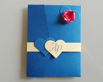 Wedding invitation wedding invitation wedding pocketfold wedding, customizable, Princess, fairy, romantic, KlrKrea