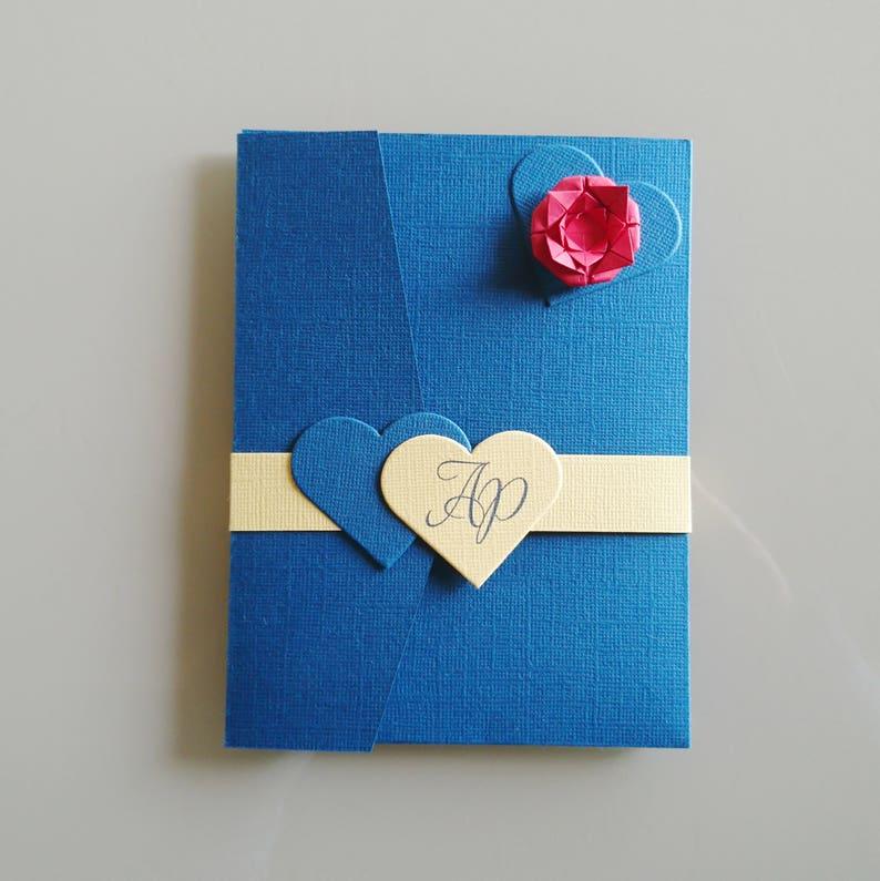 fairy KlrKrea Princess customizable Wedding invitation wedding invitation wedding pocketfold wedding romantic