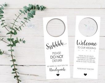 do not disturb sign wedding door hanger destination etsy