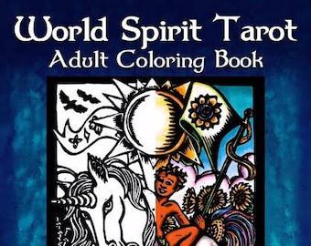 World Spirit Tarot Adult Coloring Book