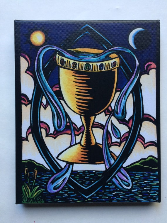 Image result for ace of cups world spirit tarot images