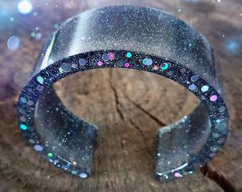 Resin Cuff Bracelet * so magical *.