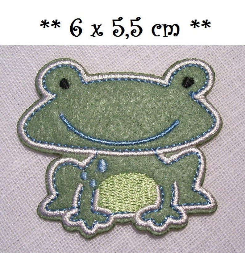 ÉCUSSON PATCH BRODÉ Applique thermocollant ** 6 x 4,5 cm ** AGNEAU MOUTON BLANC