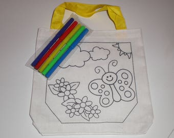 Painter kids Butterfly bag
