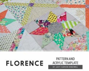 Florence quilt pattern and templates from Jen Kingwell Designs