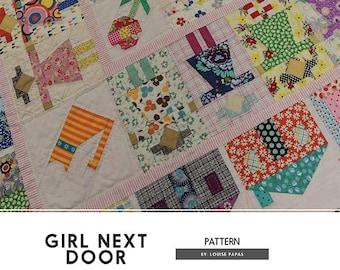 Girl Next Door pattern by Louise Papas from Jen Kingwell Designs