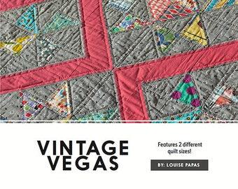Vintage Vegas  pattern by Louise Papas from Jen Kingwell Designs